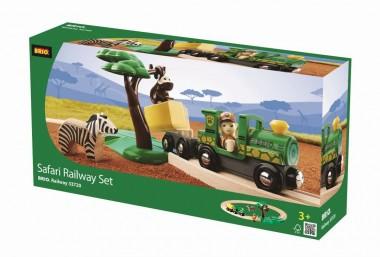 Brio 33720 Safari Bahn Set