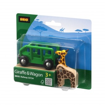 Brio 33724 Giraffenwagen