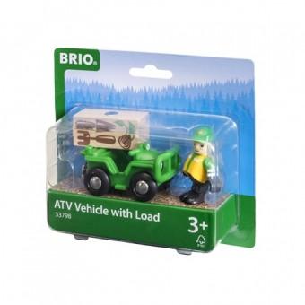 Brio 33798 Waldarbeiter Quad