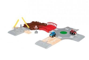 Brio 33819 Auto-Spielset Stadt und Land