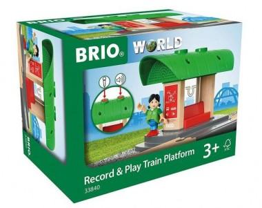 Brio 33840 Bahnhof mit Aufnahmefunktion