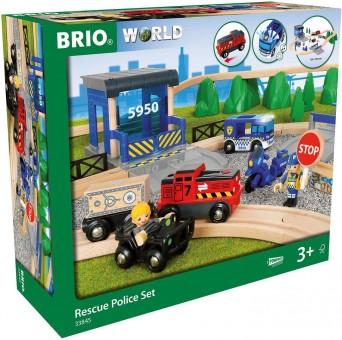 Brio 33845 Polizei DeLuxe Station