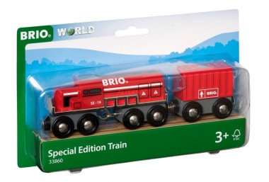 Brio 33860 Roter Frachtzug Special Edition
