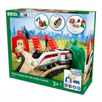 Brio 33873 Smart Tech: Reisezug Set