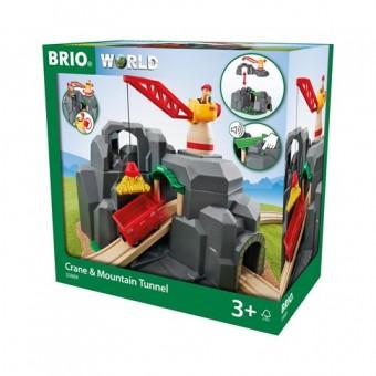 Brio 33889 Große Goldmine mit Sound Tunnel