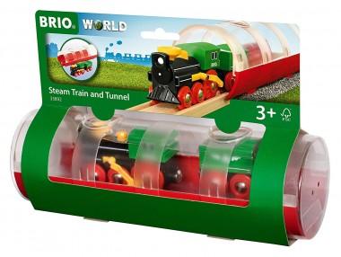 Brio 33892 Tunnel Box Dampflockzug