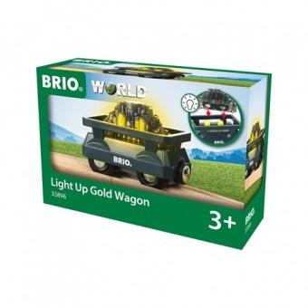 Brio 33896 Goldwagen mit Licht