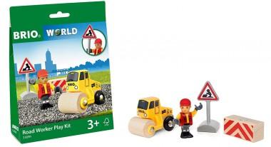 Brio 33899 Spielpäckchen Straßenbaustelle