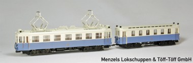 Liliput 133891 WLB Straßenbahn 2-tlg Ep.3