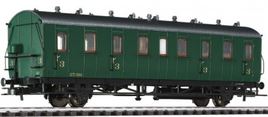Liliput 334050 SNCB Personenwagen 3.Kl. Ep.2