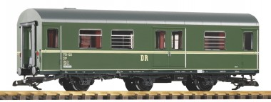Piko 37687 DR Personenwagen/Gepäck 3-achs Ep.3