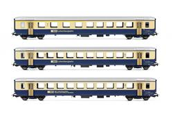 Piko 96788AC BLS Personenwagen-Set 3-tlg. Ep.4 AC