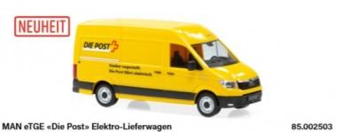 SwissLine 85.002503 MAN eTGE Die Post Elektro Lieferwagen