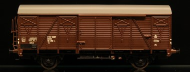 McK 0408 DSB gedeckter Güterwagen 2-achs Ep.4