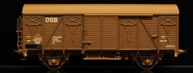 McK 0409 DSB gedeckter Güterwagen 2-achs Ep.4