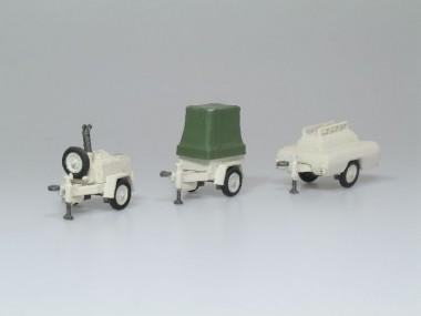 SDV model 127 Anhänger-Set 3-tlg