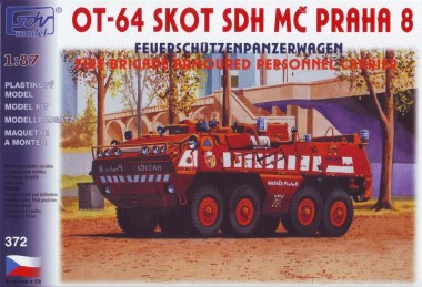 SDV model 372 Skot OT-64 SDH P8 Spezialpanzer FW
