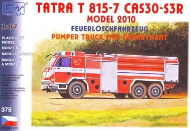 SDV model 375 Tatra 815-7 6x6 CAS 30-S3R TLF FW