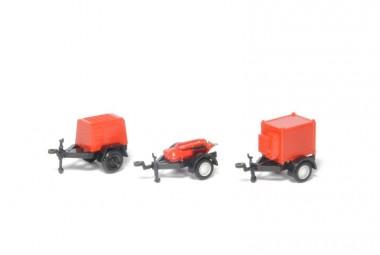 SDV model 432 Anhänger-Satz, Feuerwehr III