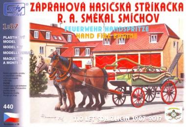 SDV model 440 Pferdefuhrwerk Feuerwehr