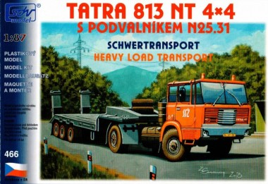 SDV model 466 Tatra 813 4x4 NT, Tieflader N25.31
