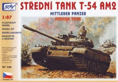 SDV model 87144 T-54AM2 Kampfpanzer
