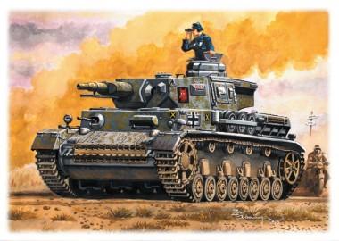 SDV model 87158 Kampfpanzer PzKpfw IV Ausf. F