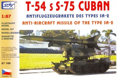 SDV model 87166 FlaRak System S-75 Cuban auf T-54