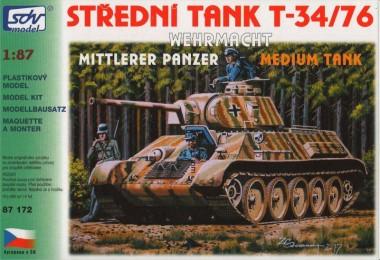 SDV model 87172 T-34/76 Wehrmacht