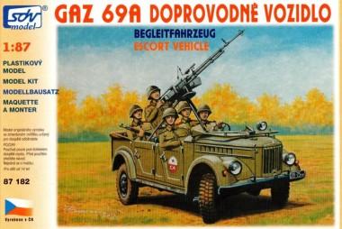 SDV model 87182 Gaz 69 AM Begleitfahrzeug