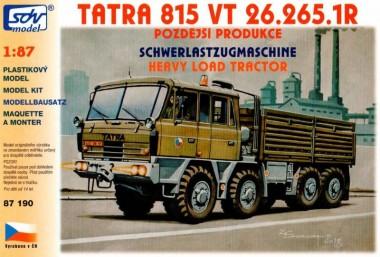 SDV model 87190 Tatra 815 VT26 265 8x8 1R