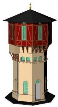 KM1 400796 Wasserturm Niebüll Bausatz