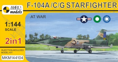 Mark 1 MKM144104 F-104A/C/G 'Starfighter At War' (2in1)