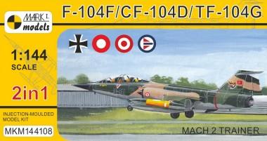 Mark 1 MKM144108 F-104F/CF-104D/TF-104G 'Mach 2 Trainer'