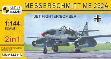 Mark 1 MKM144116 Me 262A 'Jet Fighter/Bomber' (2in1)