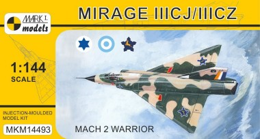 Mark 1 MKM14493 Mirage IIICJ/CZ 'Mach 2 Warrior'