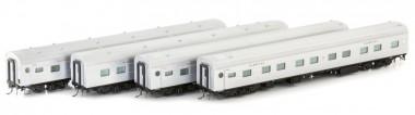 Auscision NPS-18 V-Line Personenwagen-Set 4-tlg Ep.4