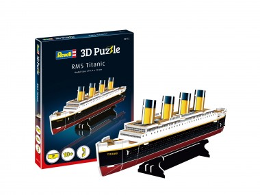 Revell 00112 3D Puzzle RMS Titanic