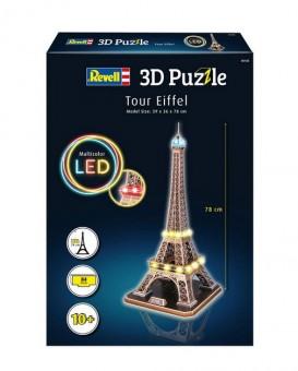 Revell 00150 3D Puzzle Eiffelturm - LED Edition