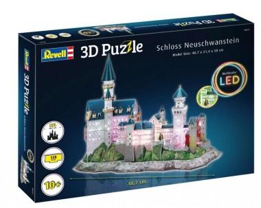 Revell 00151 Schloss Neuschwanstein-LED Edition