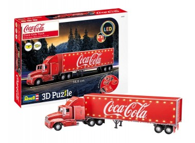 Revell 00152 3D Puzzle Coca-Cola Truck - LED Edition