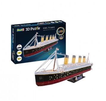 Revell 00154 3D Puzzle LED - RMS Titanic