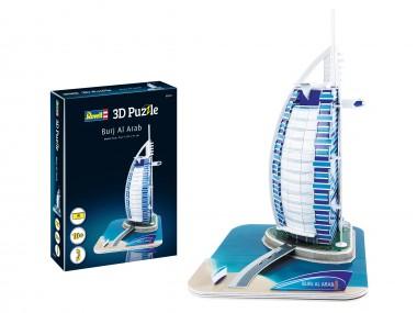 Revell 00202 3D Puzzle Burj Al Arab