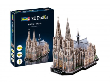 Revell 00203 3D Puzzle Kölner Dom