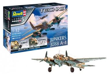 Revell 00452 Junkers JU-88 A-4 - Technik-Modell
