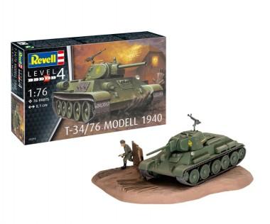 Revell 03294 T-34/76 Modell 1940