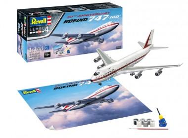 Revell 05686 Boeing 747-100, 50th Anniversary