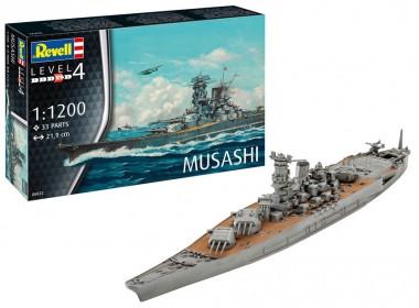 Revell 06822 Schlachtschiff Musashi