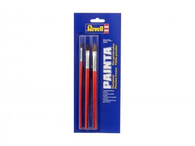 Revell 29610 Flachpinsel Set 3-tlg
