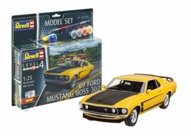 Revell 67025 Modell-Set: 1969 Boss 302 Mustang